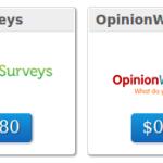 Como ganar dinero en ClixSense: Encuestas