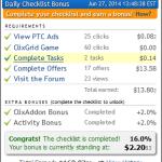 Como ganar dinero en ClixSense: La lista de actividades diaria