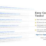 Como ganar dinero en ClixSense: Tareas